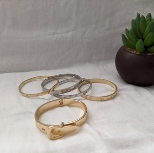 Five Bangle Bracelets